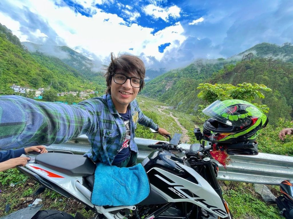 Sourav Joshi Traveling with KTM